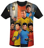 Star Trek - Bridge Black Back T-shirts