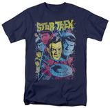 Star Trek - Classic Crew Illustrated T-shirts