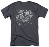 Star Trek - Through Space T-shirts