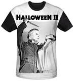 Halloween II - Serial Serenade Black Back T-shirts