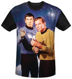 Star Trek - Protectors Black Back Shirts
