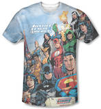 Justice League - Justice League Of America Sublimated