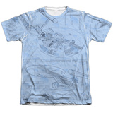 Star Trek - Blue Print T-Shirt