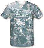 Battlestar Galactica(Classic) - Battle Has Begun T-Shirt
