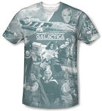 Battlestar Galactica(Classic) - Battle Has Begun T-shirts