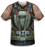 Dark Knight Rises - Bane Costume T-shirts