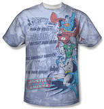 Justice League - Good Guys Sublimated