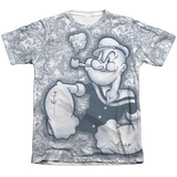 Popeye - Tattooed Sailor Sublimated
