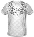 Superman - Winged Shield Repeat Shirts