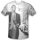 James Dean - Street Walk T-shirts