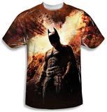 Dark Knight Rises - Fire Poster Shirts