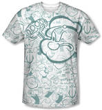 Popeye - Repeat Sailor T-shirts