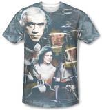 Battlestar Galactica(Classic) - Battlestar Collage T-shirts