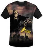 King Kong - Kong In The City Black Back T-shirts