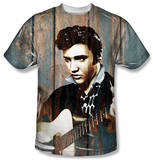 Elvis Presley - Woodgrain Shirts