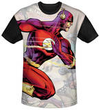 The Flash - Taking The Lead Black Back Sublimated