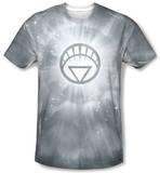 Green Lantern - White Energy T-shirts