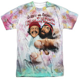 Cheech & Chong - Fried Tie Dyed T-Shirt