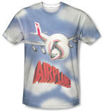 Airplane - Title Sublimated