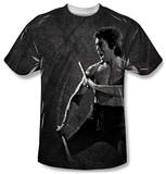 Bruce Lee - Dragon Print Shirt