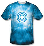 Green Lantern - Blue Energy Shirts