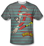 DC Comics - Plastic Man Stripes T-Shirt