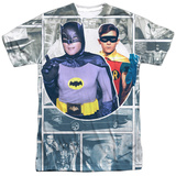 Batman Classic TV - 60S Panels T-shirts