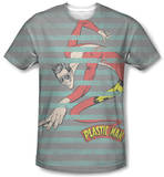 DC Comics - Plastic Man Stripes T-shirts