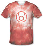 Green Lantern - Red Energy T-shirts