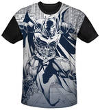 Dark Knight Rises - Concept Justice Black Back Shirts