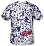 Justice League - Justice All Around T-shirts