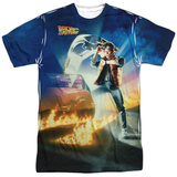 Back to the Future - Movie Poster T-Shirt