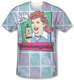 I Love Lucy - All Over Vita Comic T-Shirt
