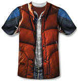 Back to the Future - Mcfly Vest Skjorte