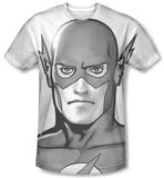 The Flash - Black and White Flash Head Sublimated