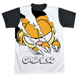 Garfield - Torn Black Back T-shirts