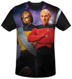 Star Trek - TNG Black Back Shirts