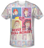 I Love Lucy - All Over Panels T-shirts