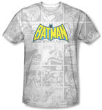 Batman - Vintage Bat Strip T-shirts