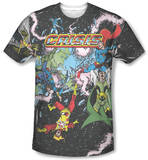 Justice League - Crisis Variant T-shirts