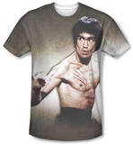 Bruce Lee - Scratched Sublimated
