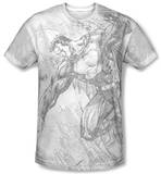 Superman - Pencil City To Space T-Shirt