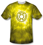 Green Lantern - Yellow Energy T-Shirt