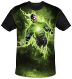 Green Lantern - Inner Strength Black Back Shirt