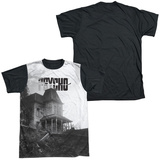 Psycho - Bates House Black Back Sublimated