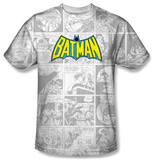 Batman - Vintage Bat Strip Shirts