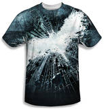 Dark Knight Rises - Big Poster T-Shirt