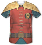 Batman Classic TV - Robin Costume T-Shirt