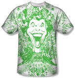 Batman - Joker In The Wild Sublimated