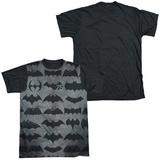 Batman - 75 Symbols Black Back Shirts